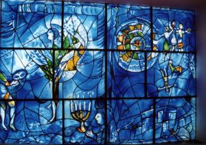 Marc Chagall Jewish Window